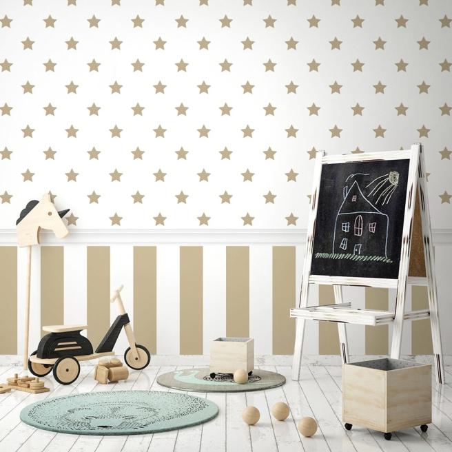 papel_pintado_estrelas_douradas